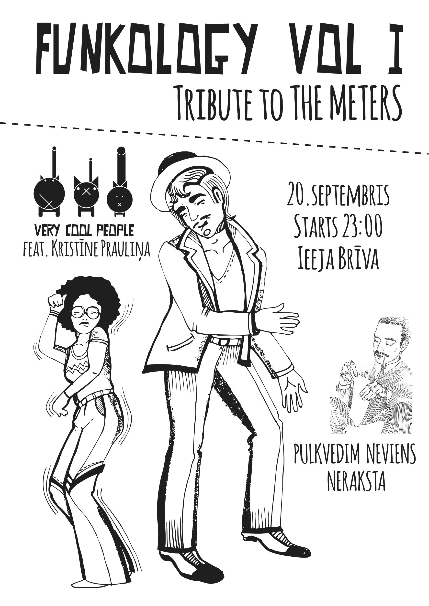 Funkology Vol.1 (tribute to The Meters) @ Pulkvedim Neviens Neraksta