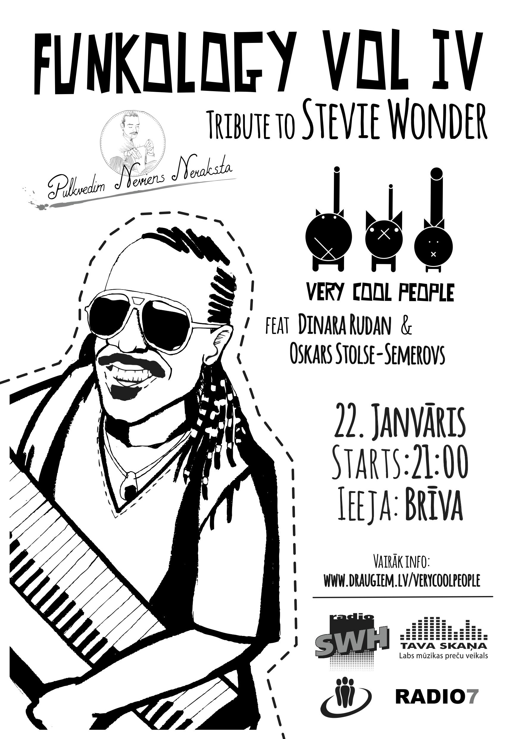 Funkology Vol 4 (tribute to Stevie Wonder) @ Pulkvedim neviens neraksta