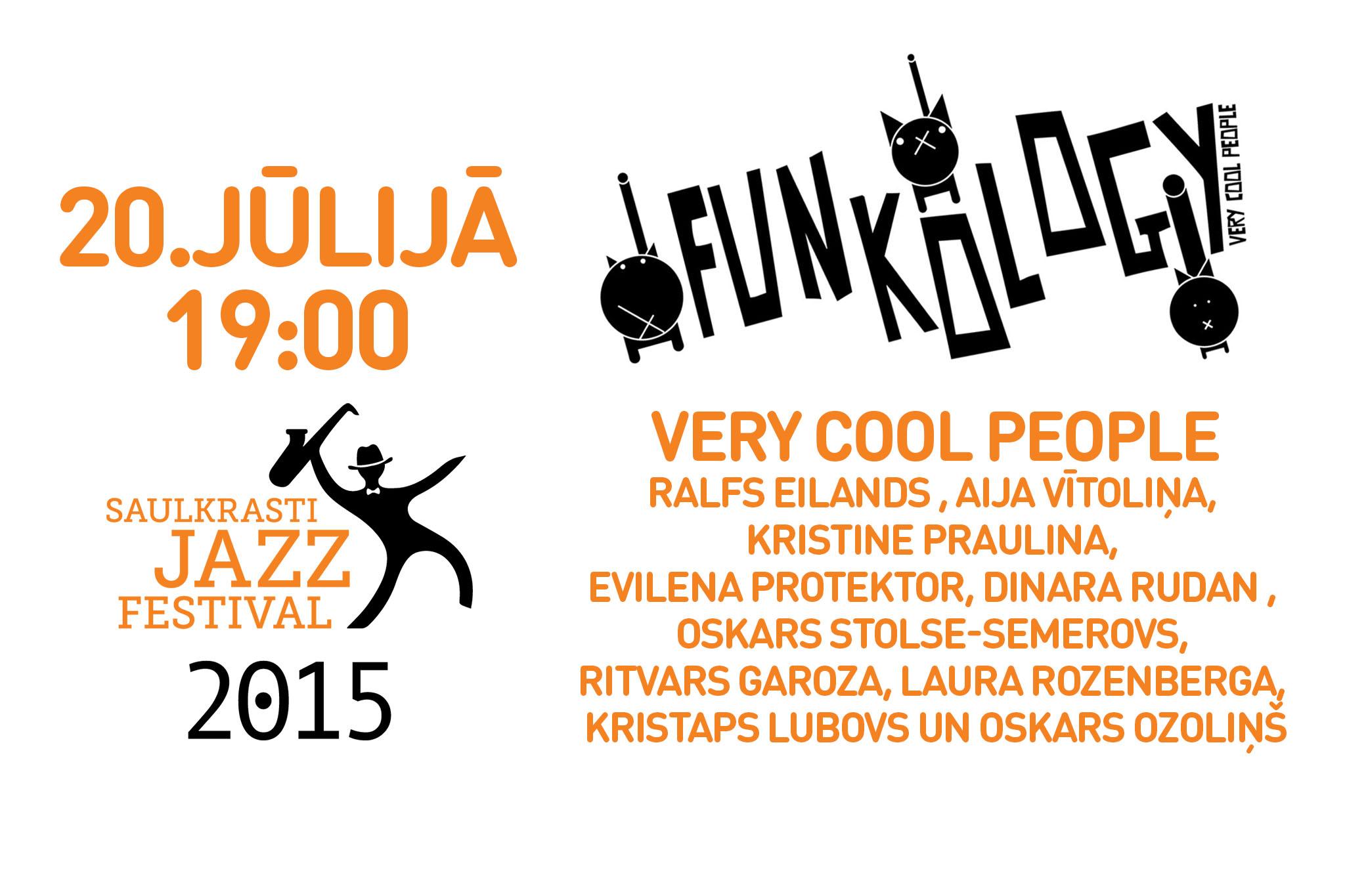 VCP Funkology @ Saulkrasti Jazz 2015