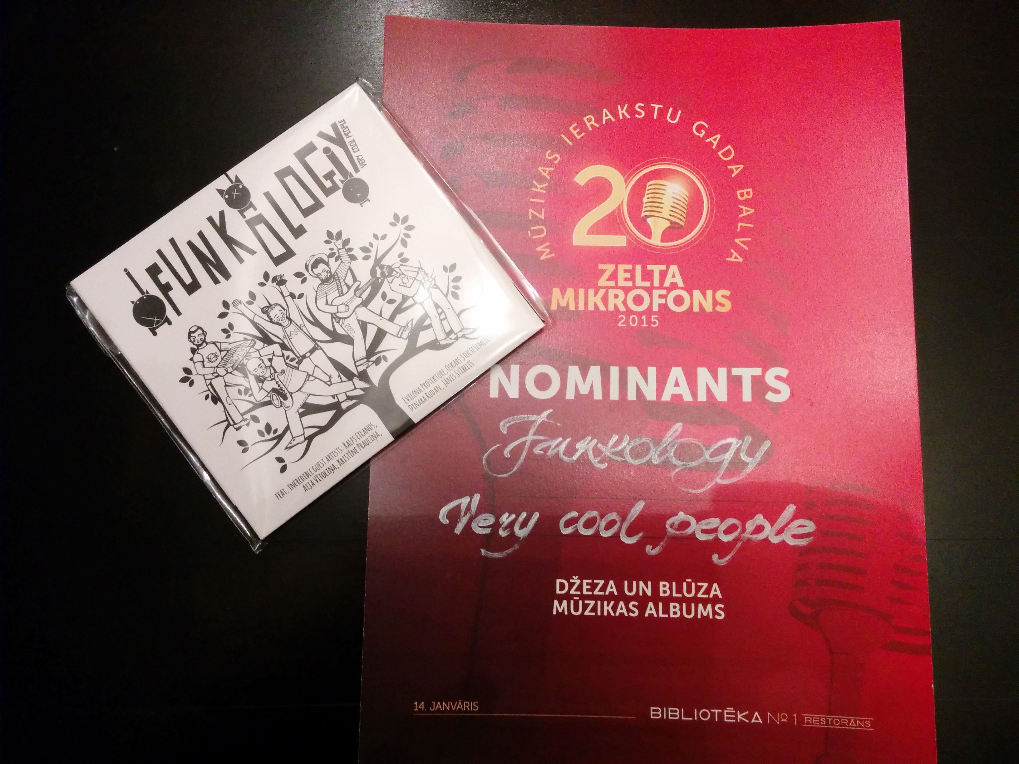Funkology is nominated in Latvian Music Awards