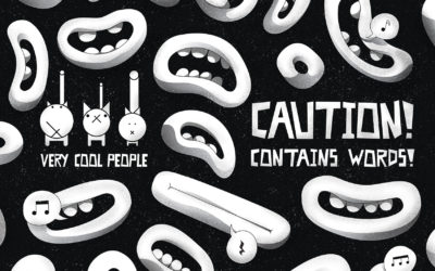 CAUTION! CONTAINS WORDS! – New album out now!