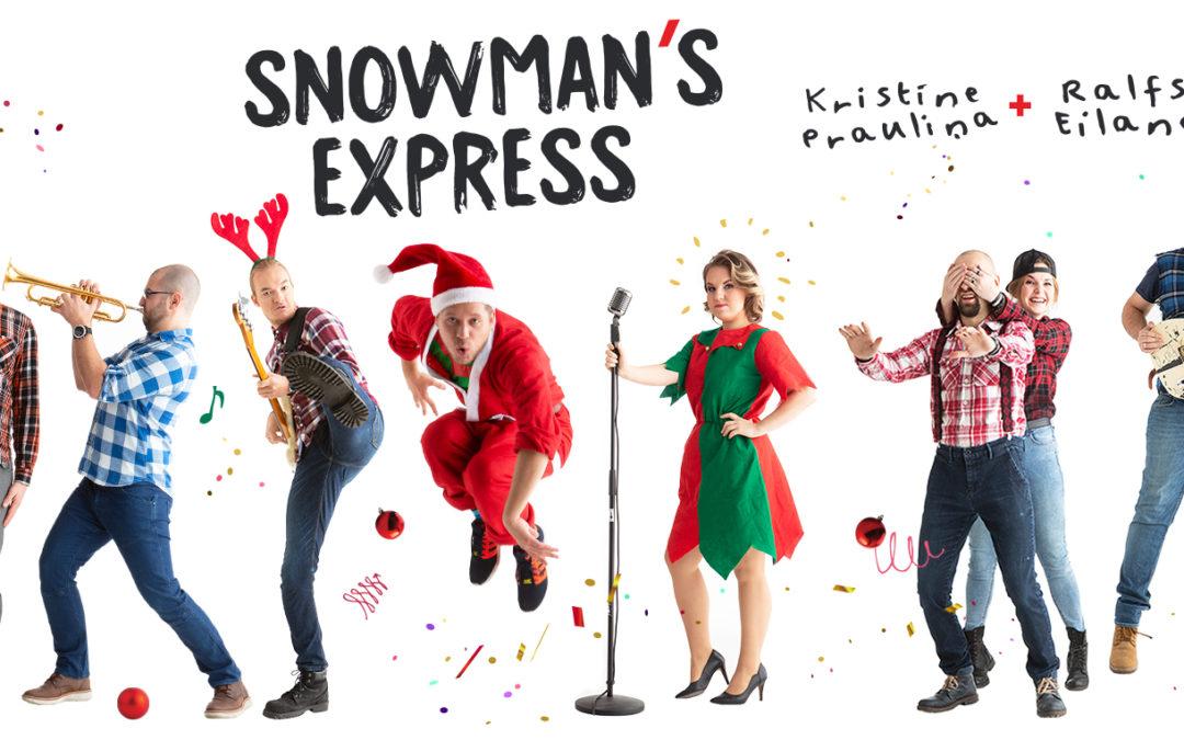 Snowman's Express – New Album – December 2018