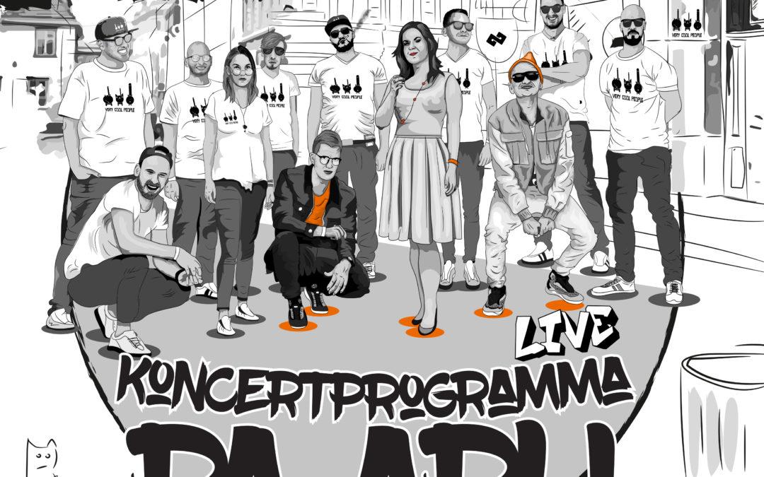 Koncertprogramma Pa Apli – OUT NOW(new album)